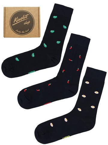 Набор Черных носков 3-72