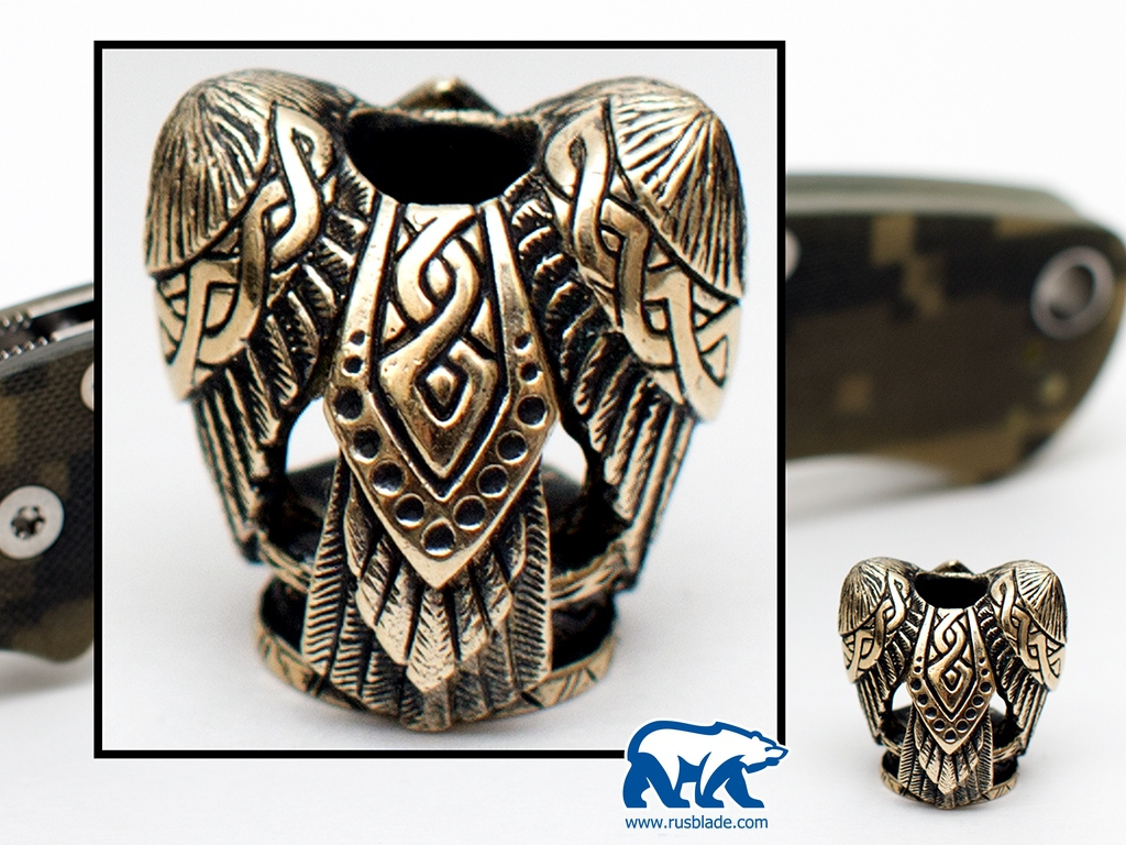 "Custom Sword Knot ""Raven"" Limited Edition - фотография"