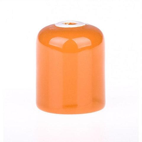 Керамический патрон Е27 (Оранжевый)