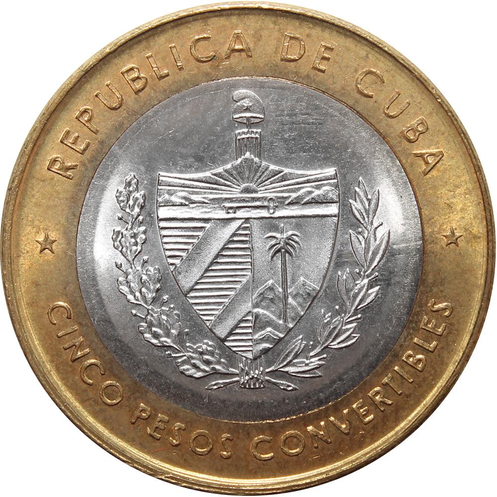 5 песо 1999 Че Гевара Куба XF