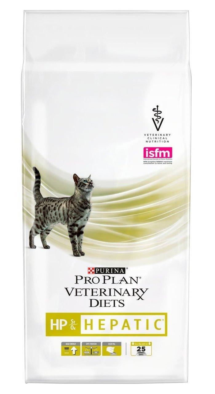 Сухой корм Сухой корм для кошек, Purina Pro Plan Veterinary Diets FELINE HP HEPATIC, при хронической печеночной недостаточности 300001011_0_1280x1280.jpg