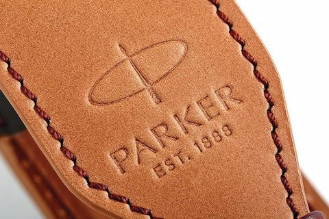 Чехол Parker из натуральной кожи, цвет коричнево-рыжий123