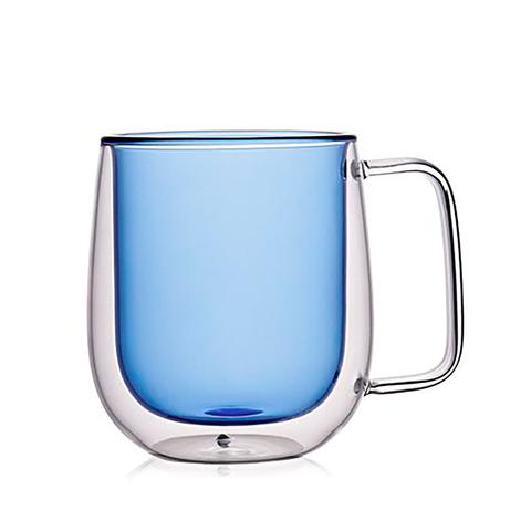 Кружка с двойными стенками 350мл - 1шт. Синий
