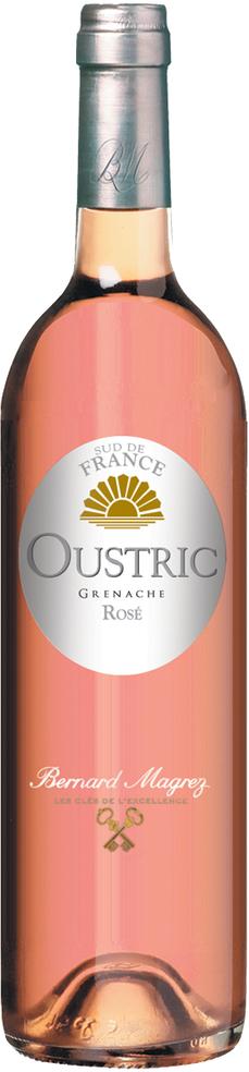 Вино Бернар Магре Устрик Розе розовое сухое 0,75л