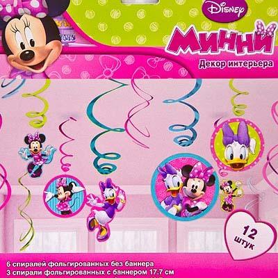 Спираль Disney Минни Маус 46-60см 12шт