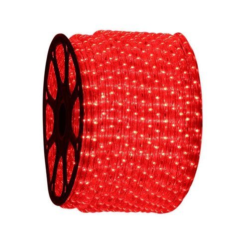 светодиодная лента LED красный шланг дюралайт пвх лед
