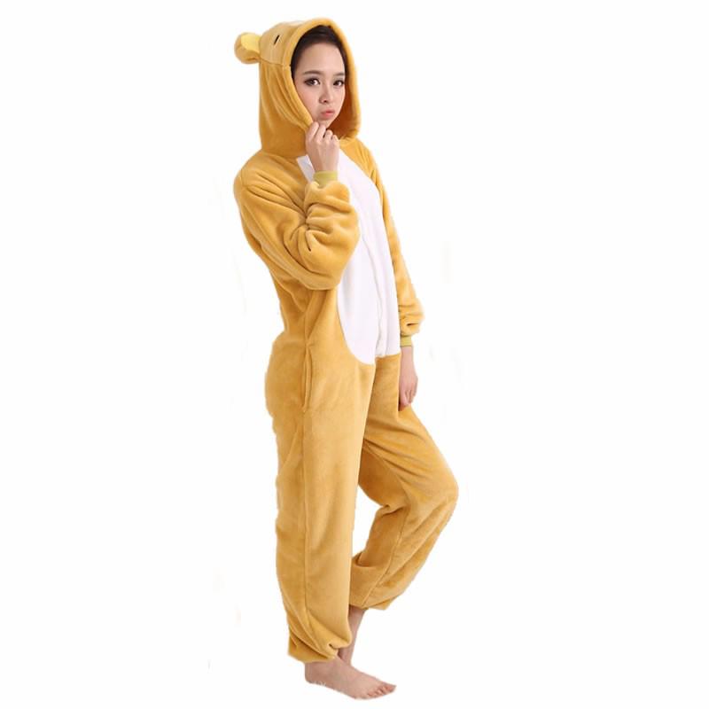 Плюшевые пижамы Kigurumi Медведь взрослый роа.jpg