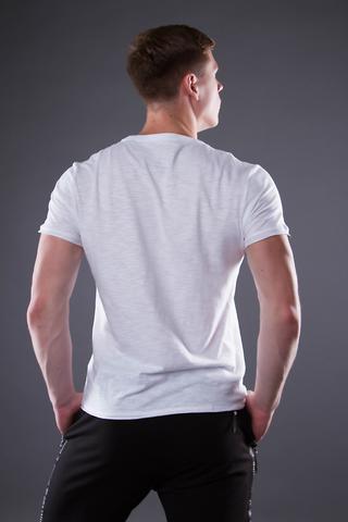 """Men's """"VELIKOROSS"""" white t-shirt"""