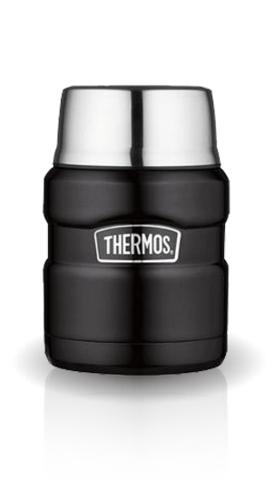Термос для еды Thermos King SK3000 (0,47 литра), черный