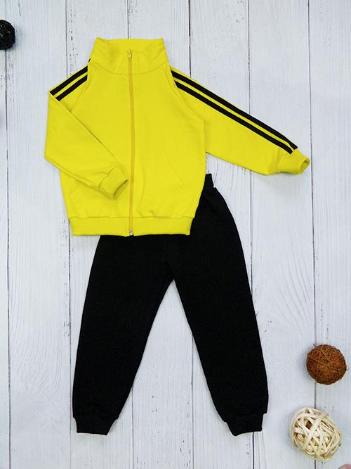 Костюм 3061, желто-черный