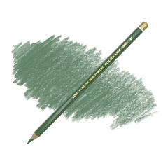 Карандаш художественный цветной POLYCOLOR, цвет 61 зеленый желчный