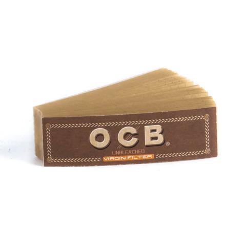 Бумажный фильтр для самокруток OCB Virgin Filter Unbleached