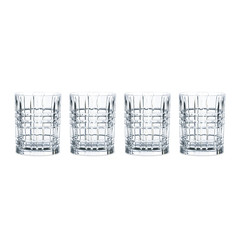 Набор из 4-х бокалов Whisky Square, 345 мл, фото 4
