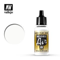 Model air 1: 17 ml. White