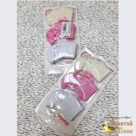 Носочки 3 ПАРЫ детские (0-6) 210604-NV11045