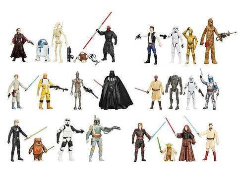 Набор фигурок из фильма Звездные войны