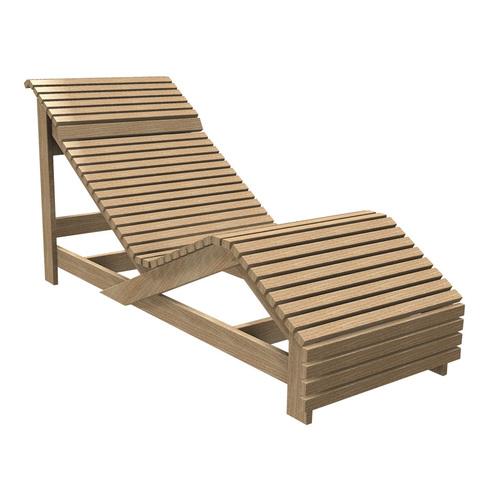 Лежак деревянный Contact Plus Тип 1 Лежак Тип 1 кедр