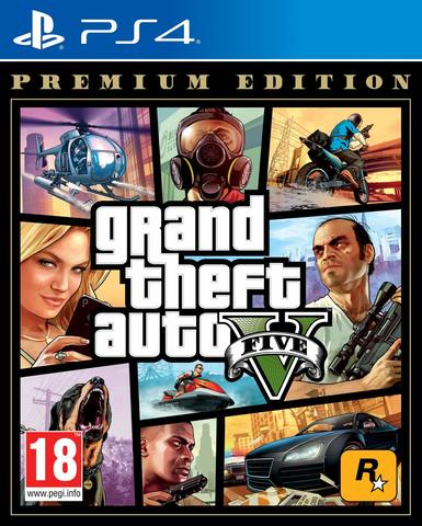 Grand Theft Auto V. Premium Edition (GTA 5) (PS4, русские субтитры)