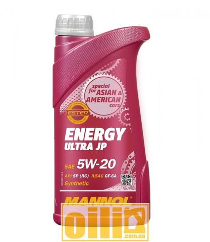 Mannol 7906 ENERGY ULTRA JP 5W-20 1л