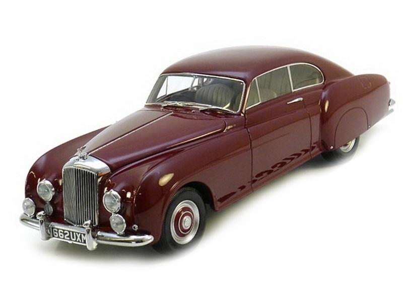 Коллекционная модель Bentley Continental R-Type 1954 Red