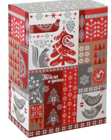 060-0126 Складная коробка «Тепла и уюта», 16 × 23 × 7,5 см