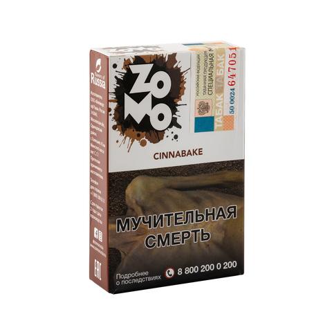 Табак ZOMO Cinnabake (Выпечка Корица Мята) 50 г