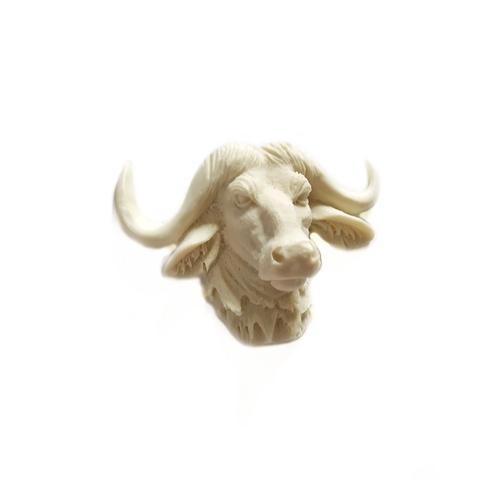 Д0003 Пластиковый декор Голова быка