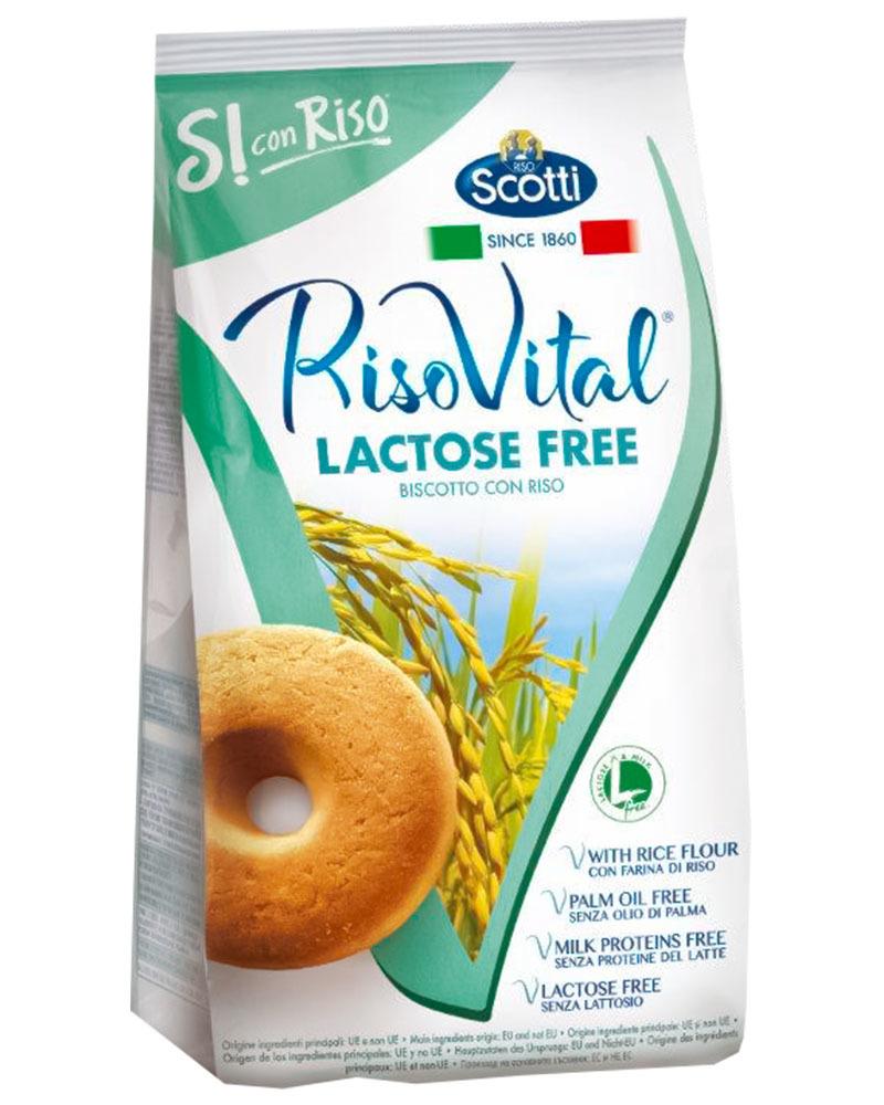 Печенье Riso Scotti с рисом безлактозное 350 гр.