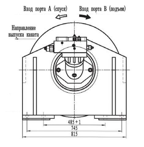 Стандартная лебедка IYJ34.54.5-120-115-26-ZPG