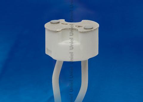 ULH-GU4/GU5.3-Ceramic-15cm Патрон керамический для лампы на цоколе GU4/GU5.3