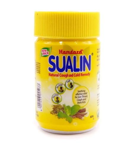 Суалин, 60 таб.(при боли в горле), Натуральный растительный комплекс от Hamdard
