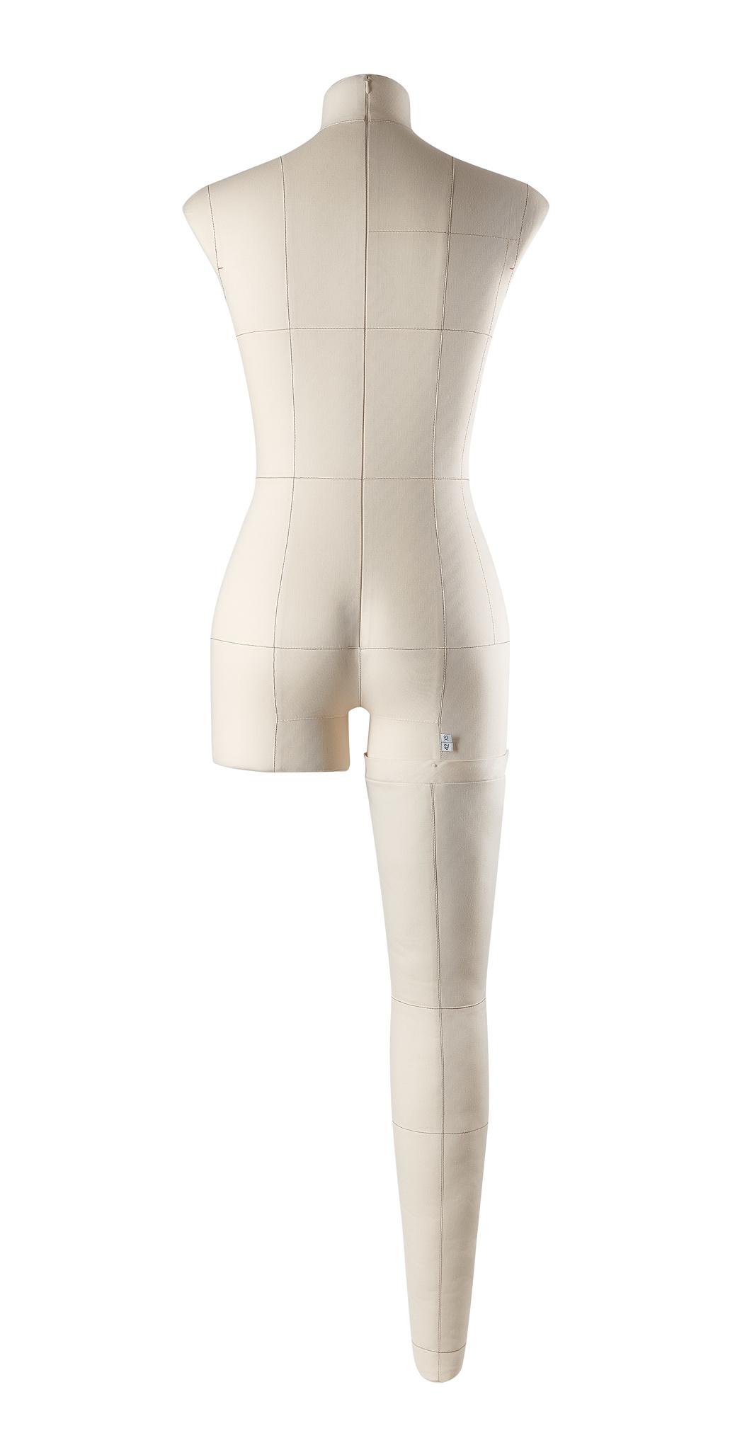 Нога бежевая для манекена Моника, размер 42Фото 1