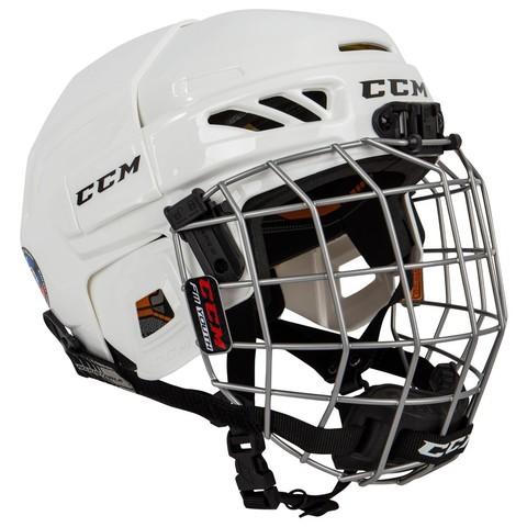 Шлем с маской CCM FITLITE 3DS YTH белый