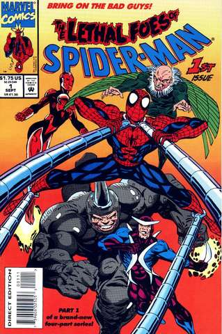 The Lethal Foes of Spider-Man #1 (of 4)