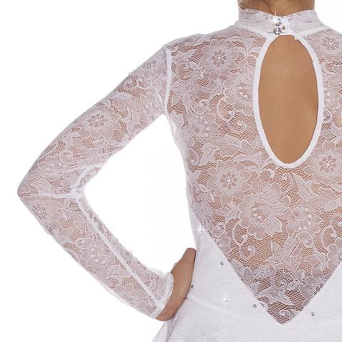 Платье «Ажур-white» (ПОД ЗАКАЗ)
