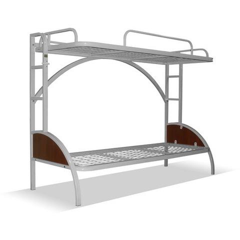 Кровать судовая откидная металлическая 2-х ярусная - фото