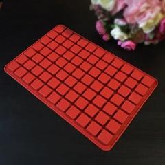 Силиконовая форма для шоколада Квадратики (Маленькая форма 126 квадратов. размер 15х15мм. высота 10мм)