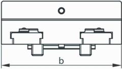 Верхняя часть губки поворотная