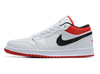 Air Jordan 1 Low 'White/Black/Red'