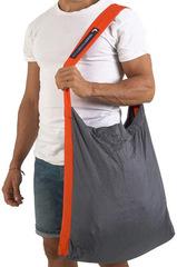 Сумка складная Ticket to the Moon Eco Bag Large (30л.) Dark Grey/Orange