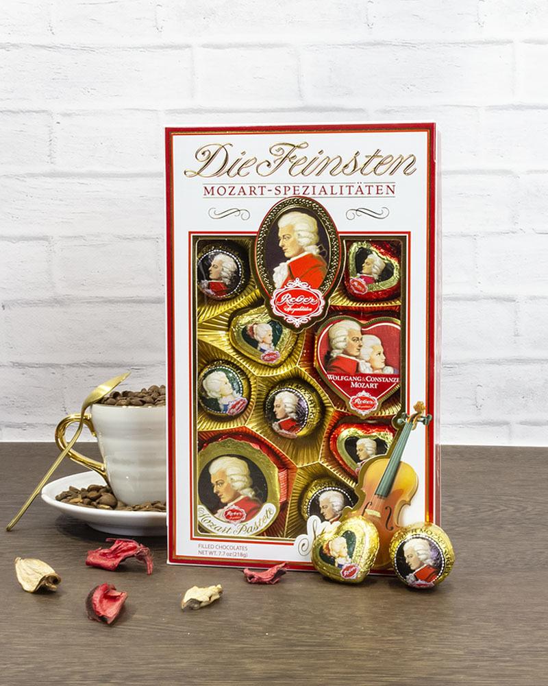 Шоколадные Конфеты Reber Ассорти 218 г