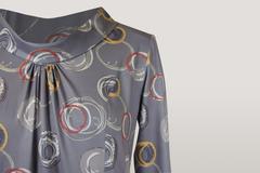 Блузка Gracjia хомут колечки