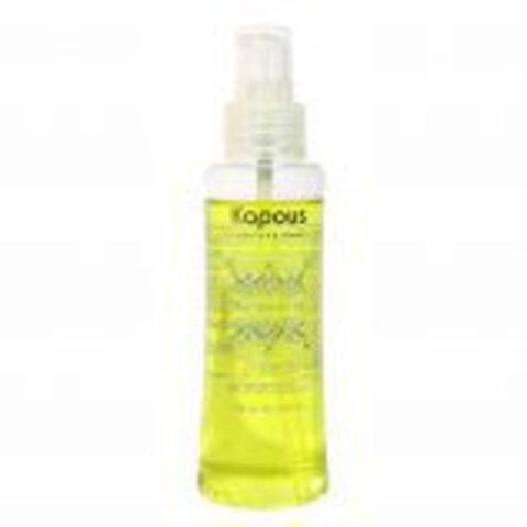 Двухфазное масло для волос с маслом ореха макадамии,Kapous Macadamia Oil,200 мл