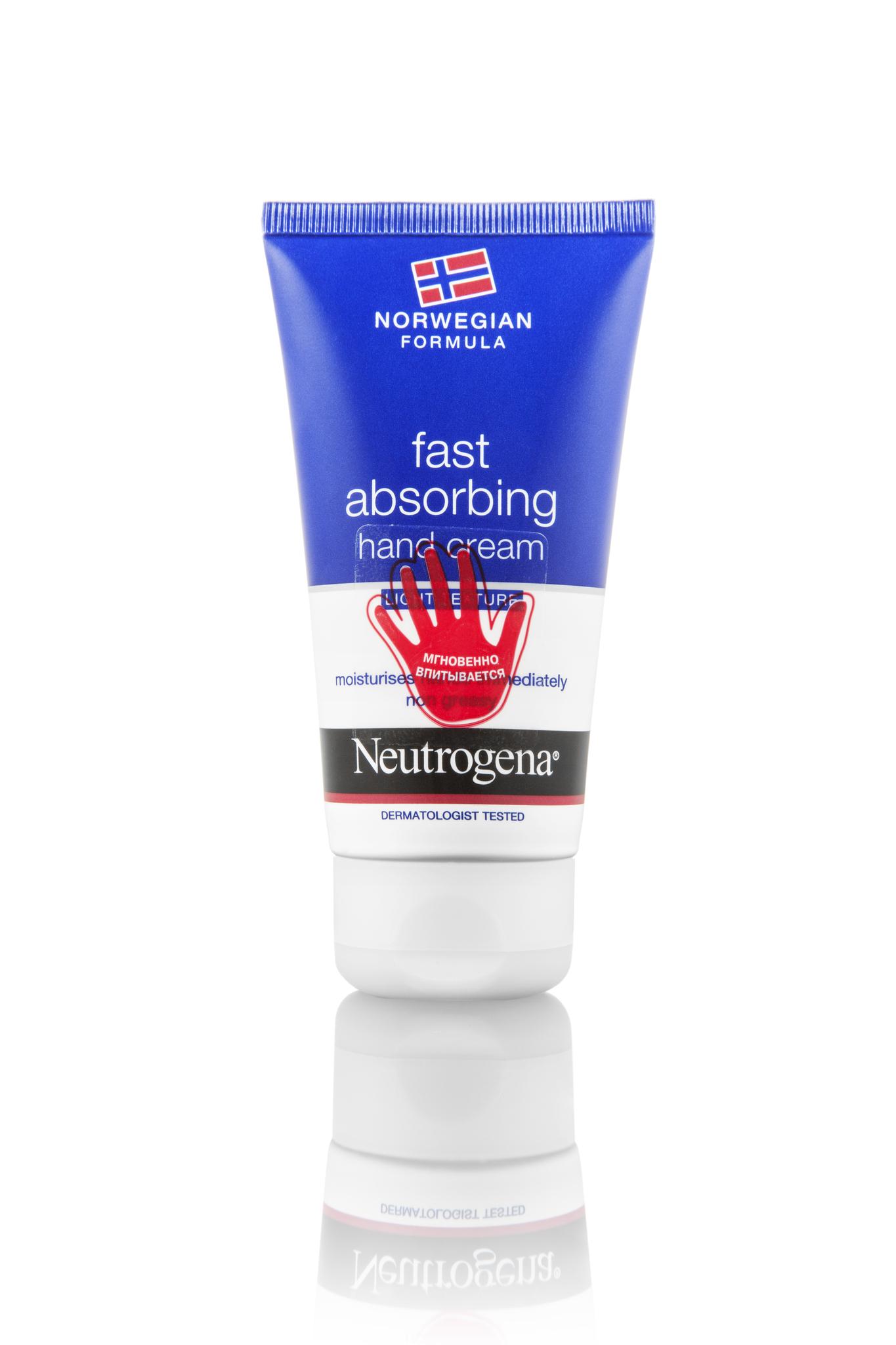 Neutrogena крем для рук быстро впитывающийся 75 мл.