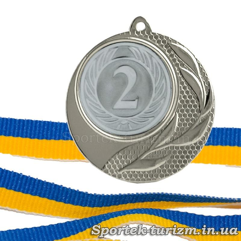 Медаль за 2 місце (срібло) діаметром 40 мм