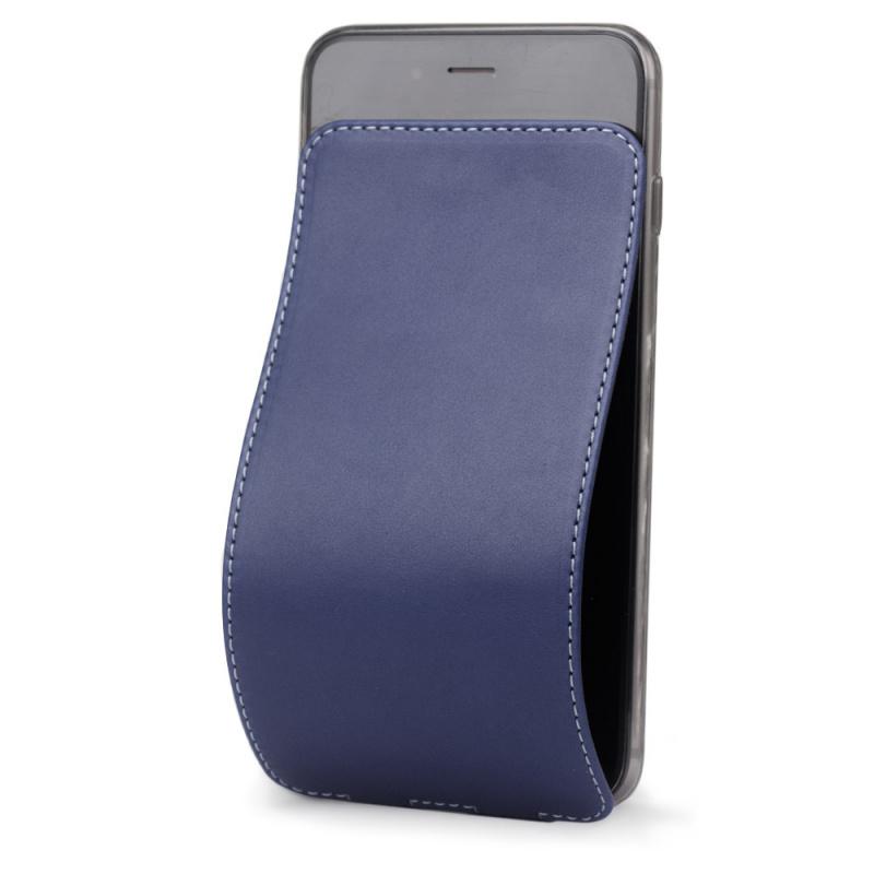 Чехол для iPhone 6/6S Plus из натуральной кожи теленка, синего цвета