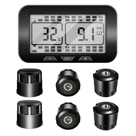 Система контроля давления в шинах TP538SE c внешними датчиками для грузовиков и прицепов (до 38 колес)