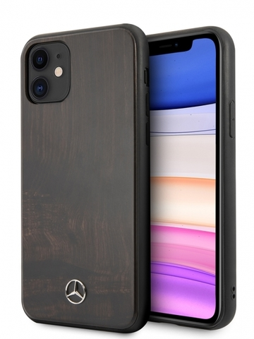 Mercedes / чехол для телефона iPhone 11 | Wood Hard Rosewood Brown