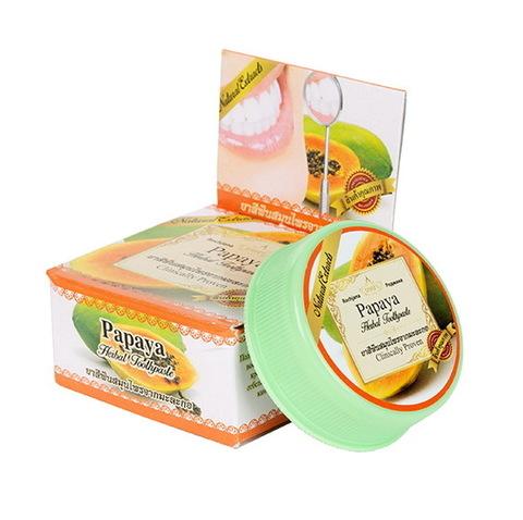 Зубная паста с экстрактом папайи Rochjana Papaya, 30 гр