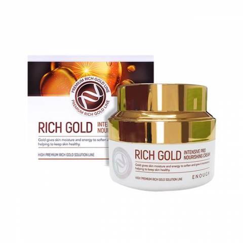 Питательный крем с золотом  ENOUGH Rich Gold Intensive Pro Nourishing Cream 50 мл.